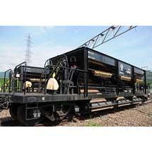 11月13日〜12月2日京都鉄道博物館で,ホキ800形「ホッパ車」を特別展示