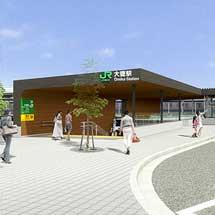 常磐線大甕駅で地下駅舎・自由通路の一部を12月8日から供用開始
