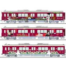 阪急神戸線・宝塚線・京都線のラッピング列車デザインをリニューアル
