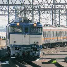 205系M12編成が新津へ