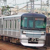 東京メトロ13000系第7編成が鷺沼へ