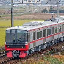 名鉄3300系3312編成が試運転を実施