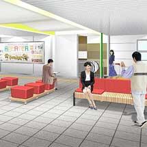 多摩モノレール,立川南駅のリニューアルが12月13日に完成