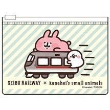 「西武鉄道×カナヘイの小動物」コラボグッズ発売