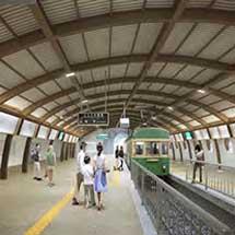 江ノ電,「絵はがきになる江ノ電へ」をコンセプトに駅舎のリニューアルなどを実施