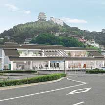 JR西日本,3月10日から山陽本線 尾道駅新駅舎の供用を開始