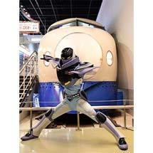 12月23日鉄道博物館に「山陽新幹線公式キャラクター カンセンジャー」が登場
