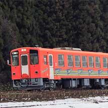 AN-8803が「秋田犬っこ列車」に改造される