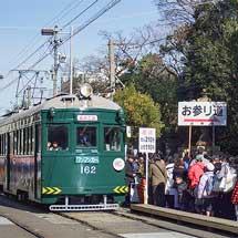 阪堺モ161形全車両が正月運用に充当される