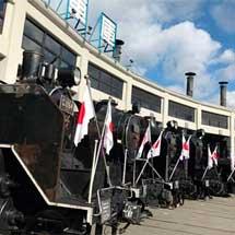 1月2日〜7日京都鉄道博物館で「SL頭出し展示」開催