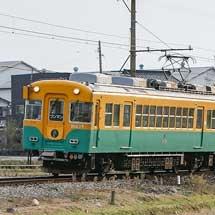 富山地鉄で「宇奈月温泉百名月物語」のヘッドマーク