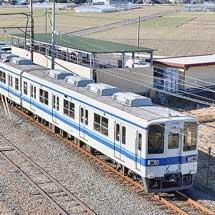 東武8000系81106編成が渡瀬へ
