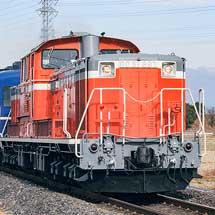 DD51と12系客車が八高線で試運転