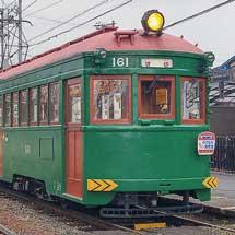 阪堺電軌でモ161による団臨運転
