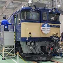 京都鉄道博物館にEF64が展示される