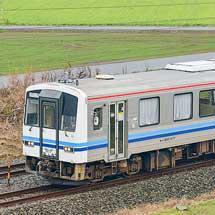 浜田鉄道部のキハ120-317が北陸広域鉄道部へ