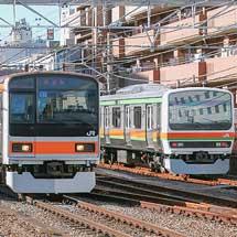 209系1000番台が中央本線で試運転