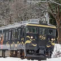 あいの風とやま鉄道413系「とやま絵巻」が出場