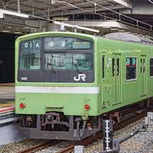 おおさか東線延伸開業予定区間で試運転が続く