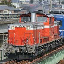 信越本線でDD51+12系客車の試運転