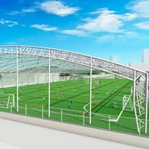 横浜市交通局新羽車両基地に「あおばスポーツパーク」がオープン