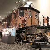 京都鉄道博物館でEF52 1の車内公開