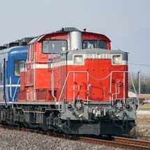八高線でDD51+12系客車の試運転