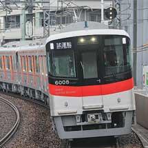 山陽6000系増備車が試運転で阪神梅田へ