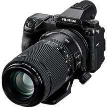 富士フイルム,中判ミラーレスデジタルカメラ用の望遠ズームレンズを2月14日に発売
