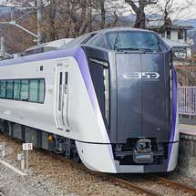 富士急行線でE353系の試運転