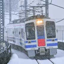 ほくほく線で一部の定期列車が増結される