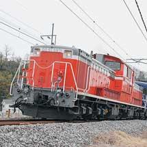信越本線でDD51+12系客車による試運転