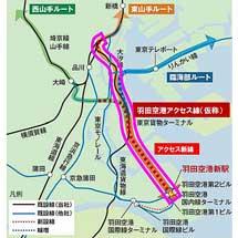 JR東日本,羽田空港アクセス線(仮称)の環境影響評価手続きへ