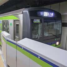 新線新宿駅5番線でホームドアの使用を開始