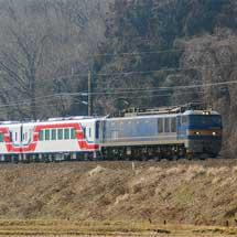 三陸鉄道36-700形4両が甲種輸送される