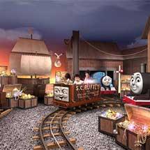 富士急ハイランド「トーマスランド」に新アトラクション「トーマスのたからさがし大冒険」が登場
