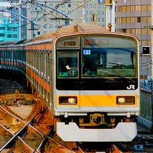 209系1000番台が中央快速線で営業運転を開始
