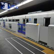 大阪モノレール,3月21日から千里中央駅の可動式ホーム柵の使用を開始