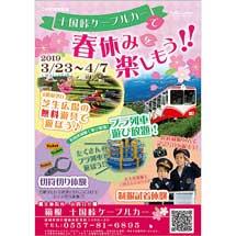 3月23日〜4月7日「十国峠ケーブルカーで春休みを楽しもう!」開催