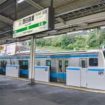 京浜東北線西日暮里駅に可動ホーム柵が設置される