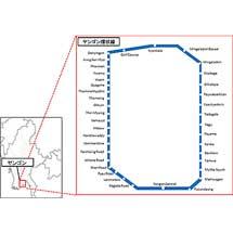 日本信号など,ヤンゴン環状鉄道改修事業を受注