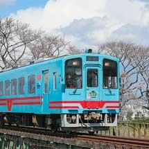 樽見鉄道で「桜ダイヤ」開始