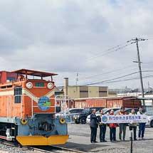 太平洋石炭販売輸送臨港線でさよなら列車運転