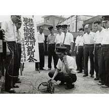 京都鉄道博物館で,収蔵写真展「かつての鉄道風景~鉄道で働く人々~」開催