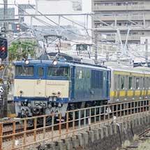 E231系中間車4両が長野へ