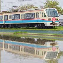 近江鉄道で700形「あかね号」による団臨運転