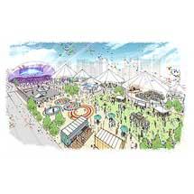 JR東日本,高輪ゲートウェイ駅前に期間限定でイベント空間を設置