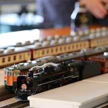 5月2日・3日新津鉄道資料館で,萬代鉄道模型同好会による「鉄道模型走行会」実施