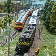 5月4日〜6日新津鉄道資料館で,鉄道ジオラマ新潟による「鉄道模型走行会」実施