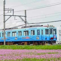 養老鉄道610系D13編成が東方操車場へ